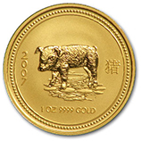 Perth Mint Gold (2007 Pig Coins)